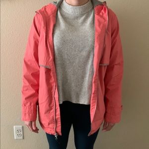 Coral Raincoat